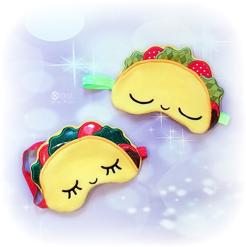 Taco Sleep mask72