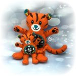Roary Tiger Stuffie Design