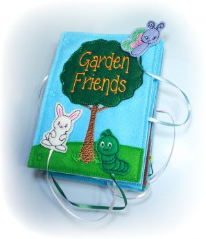 Garden Friends Quiet Book