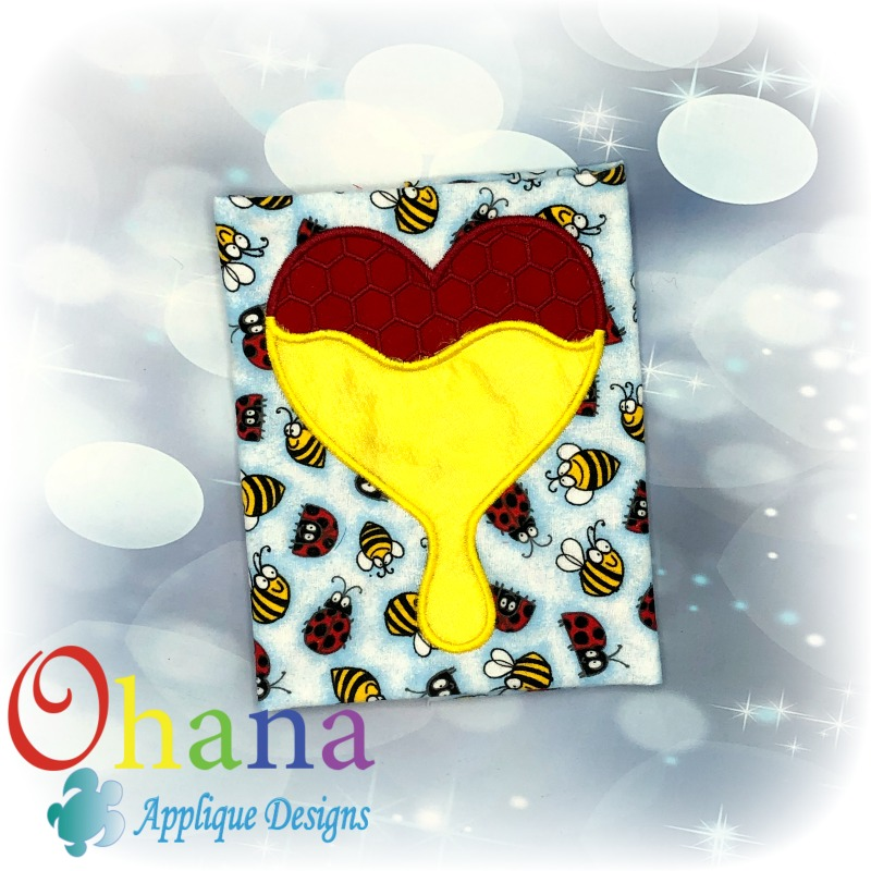 honeycomb heart applique72