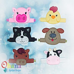 Farm Animal Mask Band