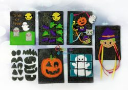Halloween Quiet Book Embroidery