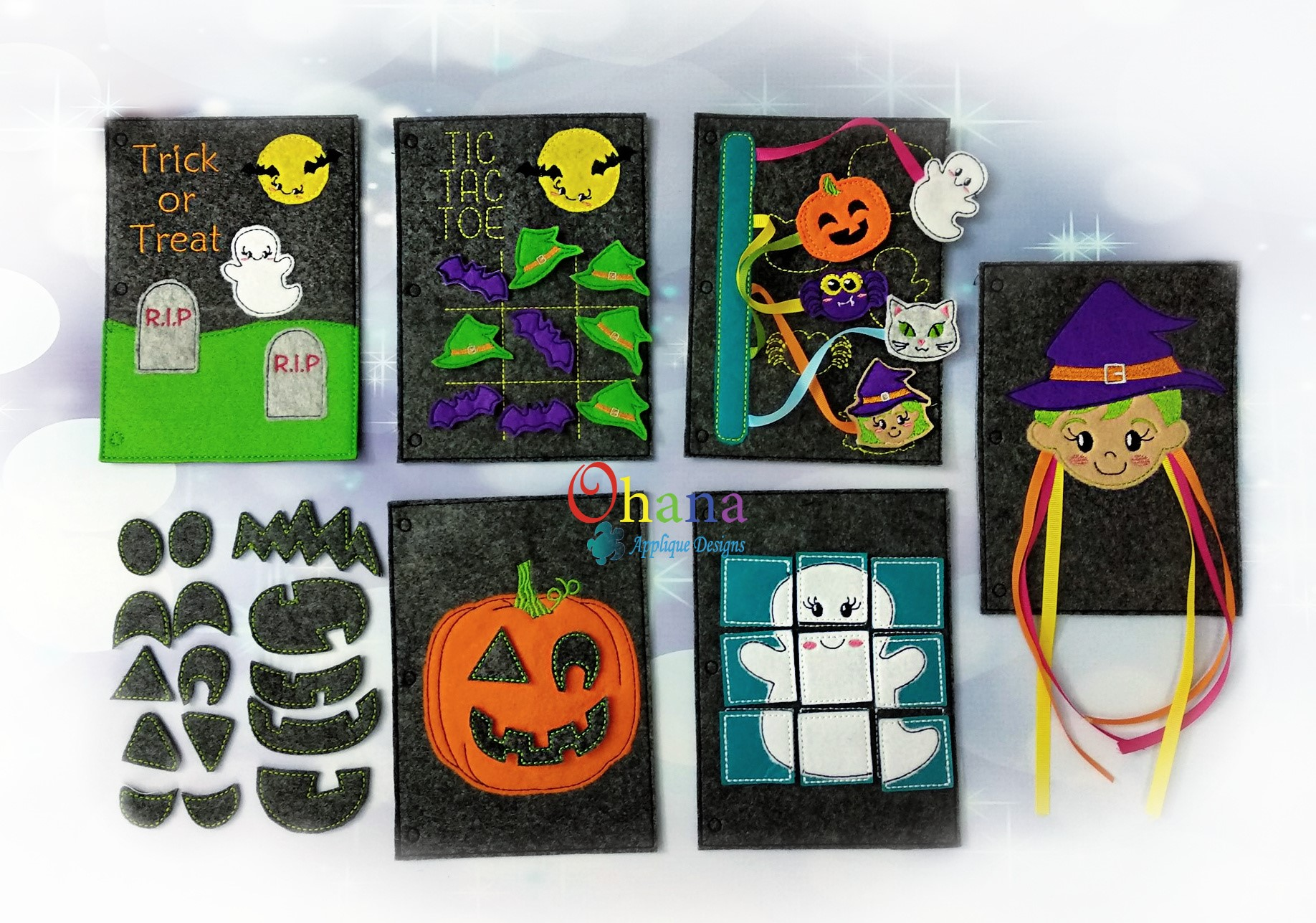 Halloween.Quiet.Book.Embroidery