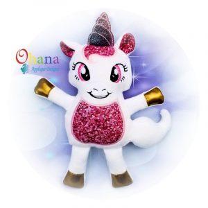 Unicorn Stuffie Embroidery Design