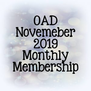 OAD November Monthly Membership
