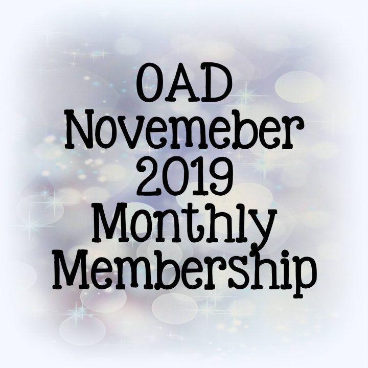 OAD November Monthly Membership