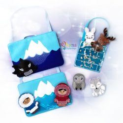 Arctic 2 Finger Puppet Embroidery