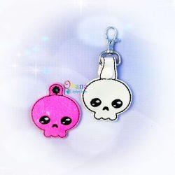 Skeleton Key Chain Embroidery