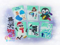 Arctic Quiet Book Embroidery