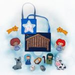 Nativity Finger Puppet Embroidery