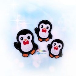 Peter Penguin Feltie Embroidery