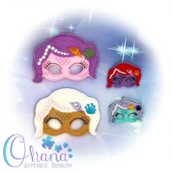 Mermaid Doll Pretend Mask