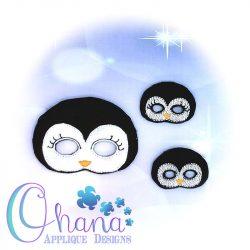 Penguin Doll Pretend Mask