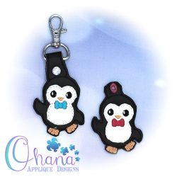 Peter Penguin Key Chain