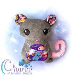 Floral Rat/ Mouse Peeker