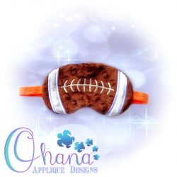 Football Sleep Mask Design