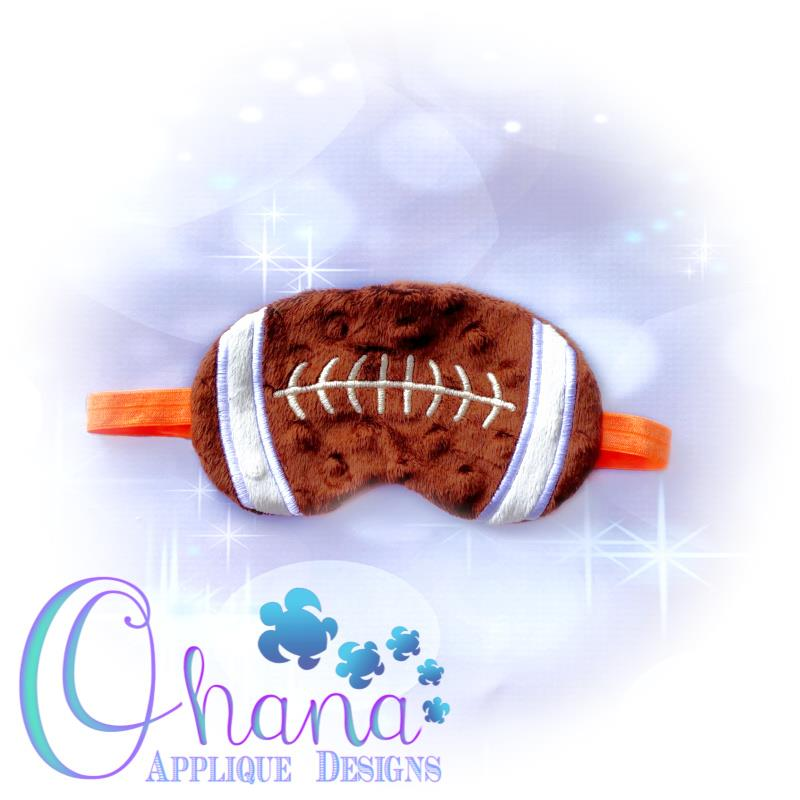 Football Sleep Mask Design