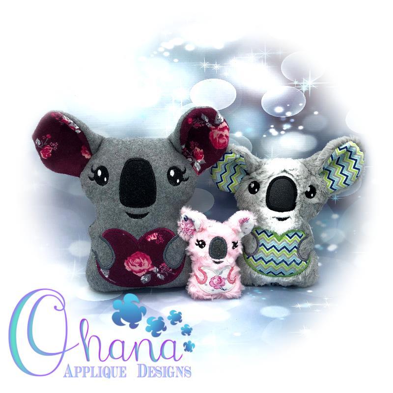 Hope Koala Embroidery design