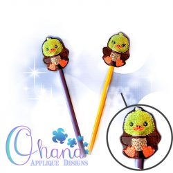 Sitting Duck Pencil Topper