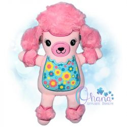 Poodle Stuffie Embroidery