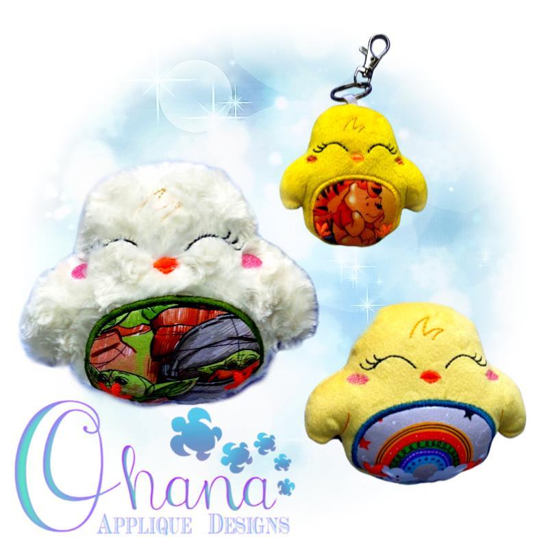 Sunshine Chick Stuffie Embroidery