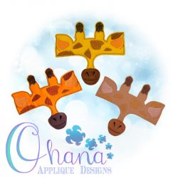 Giraffe Mask Band Design