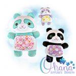 Pepe Panda Stuffie Embroidery