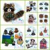 Woodland Animal Bundle Embroidery