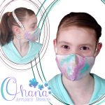 Dust Mask Embroidery Design