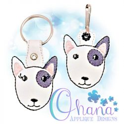 Bull Terrier Key Chain