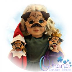 Pug Doll Pretend Mask