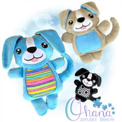 Rover Puppy Stuffie Embroidery