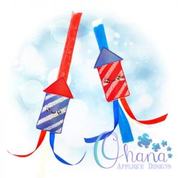 Kawaii Firework Ice Pop Holder