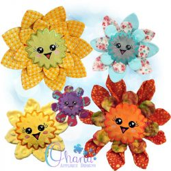 Blossom Flower Stuffie Embroidery