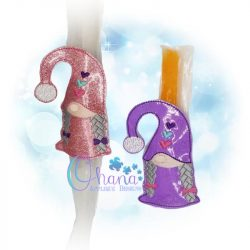Girl Gnome Ice Pop Holder