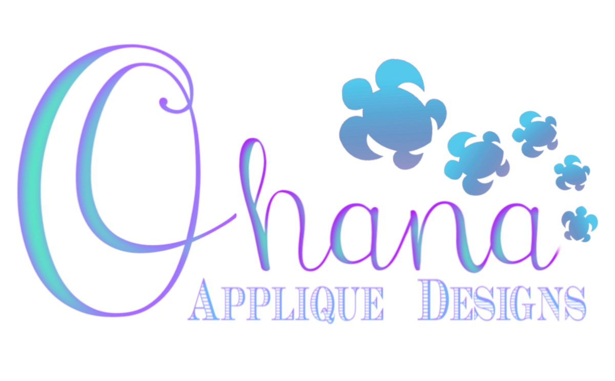 Ohana Applique Designs