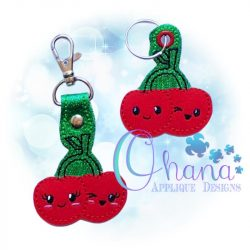 Kawaii Cherries Key Chain