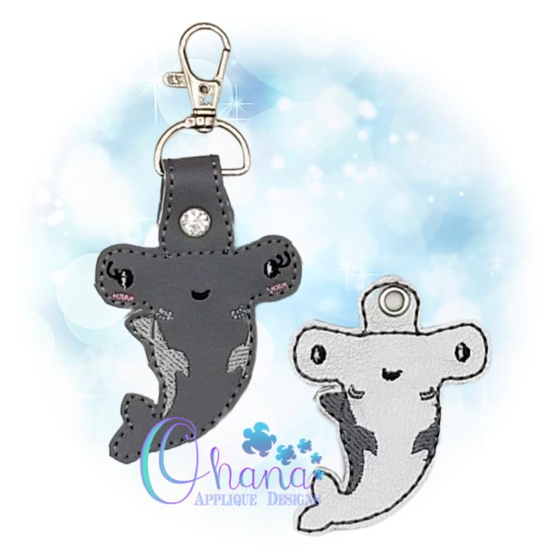 Hammerhead Shark Key Chain