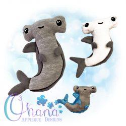 Sledge Hammerhead Shark Stuffie