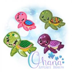 Honu Feltie Embroidery Design