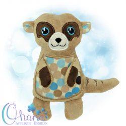 Mylo Meerkat Stuffie Embroidery
