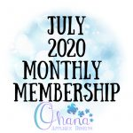 OAD July 2020 Monthly Membership
