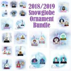 2018/2019 Snowglobe Ornament Bundle