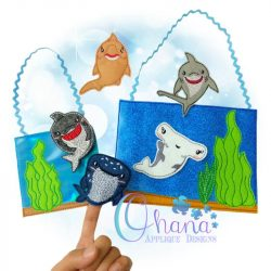 Shark Breeds Finger Puppets