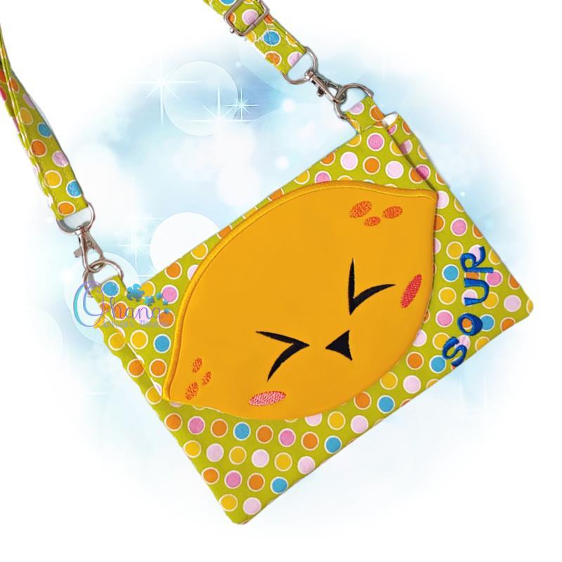 Sour Lemon Flap Bag