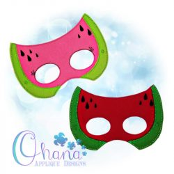 Kawaii Watermelon Pretend Mask