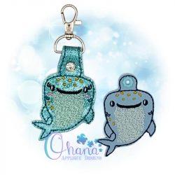 Whale Shark Key Chain