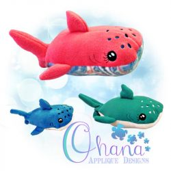 Wallie Whale Shark Stuffie