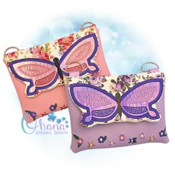 Butterfly Flap Bag Purse