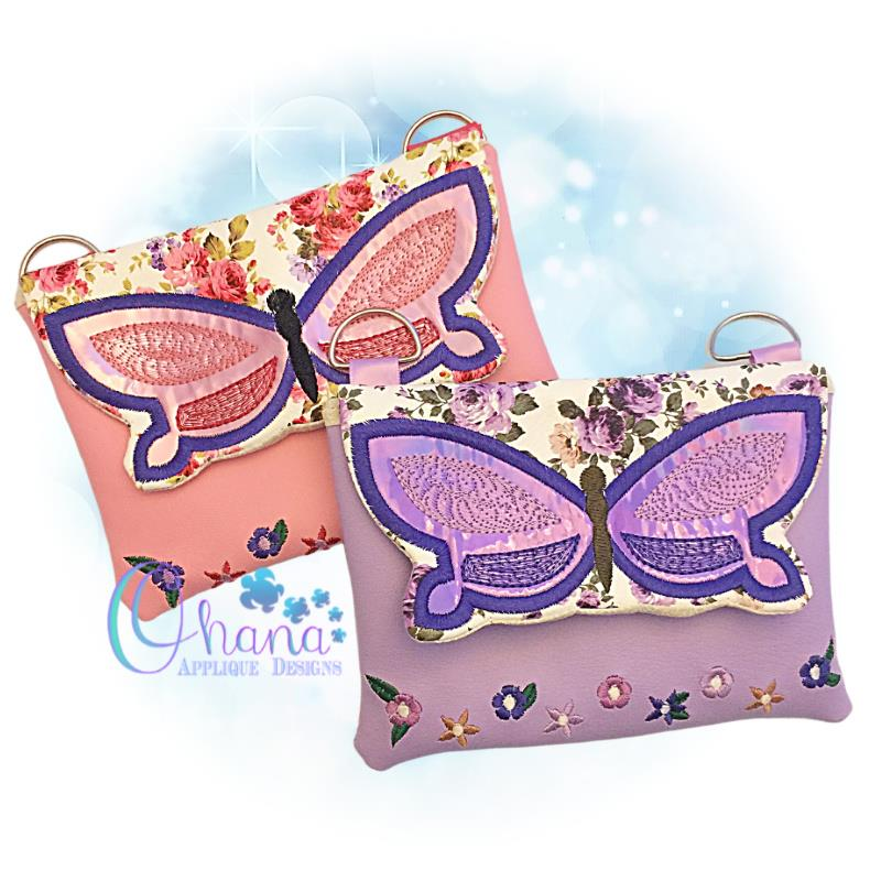 Butterfly Flap Bag Purse